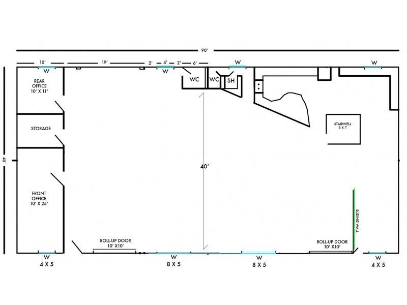 goathouse loft stage rental los angeles film location